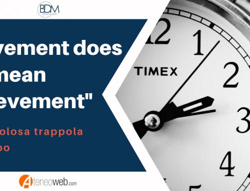 """""""Movement does not mean achievement"""""""