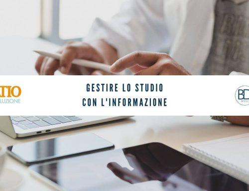 Gestire lo Studio con l'informazione