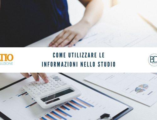 Come utilizzare le informazioni nello Studio