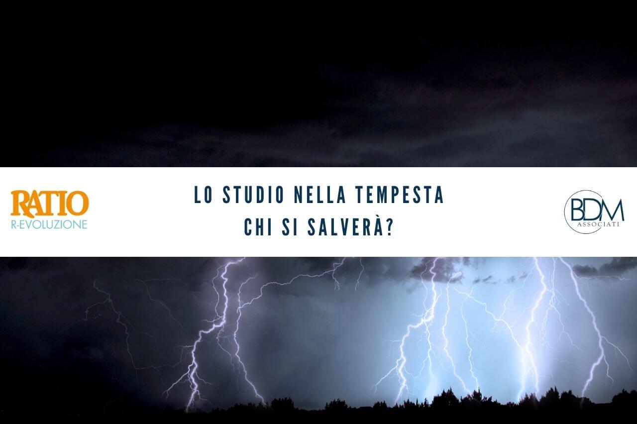 REvoluzione - Lo studio nella tempesta. chi si salverà?
