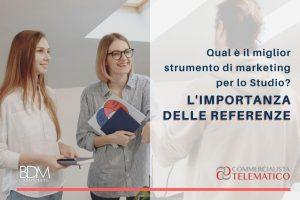 COMM TEL 1 - L'importanza delle referenze