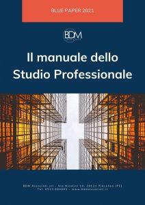 Copertina Manuale dello Studio Professionale